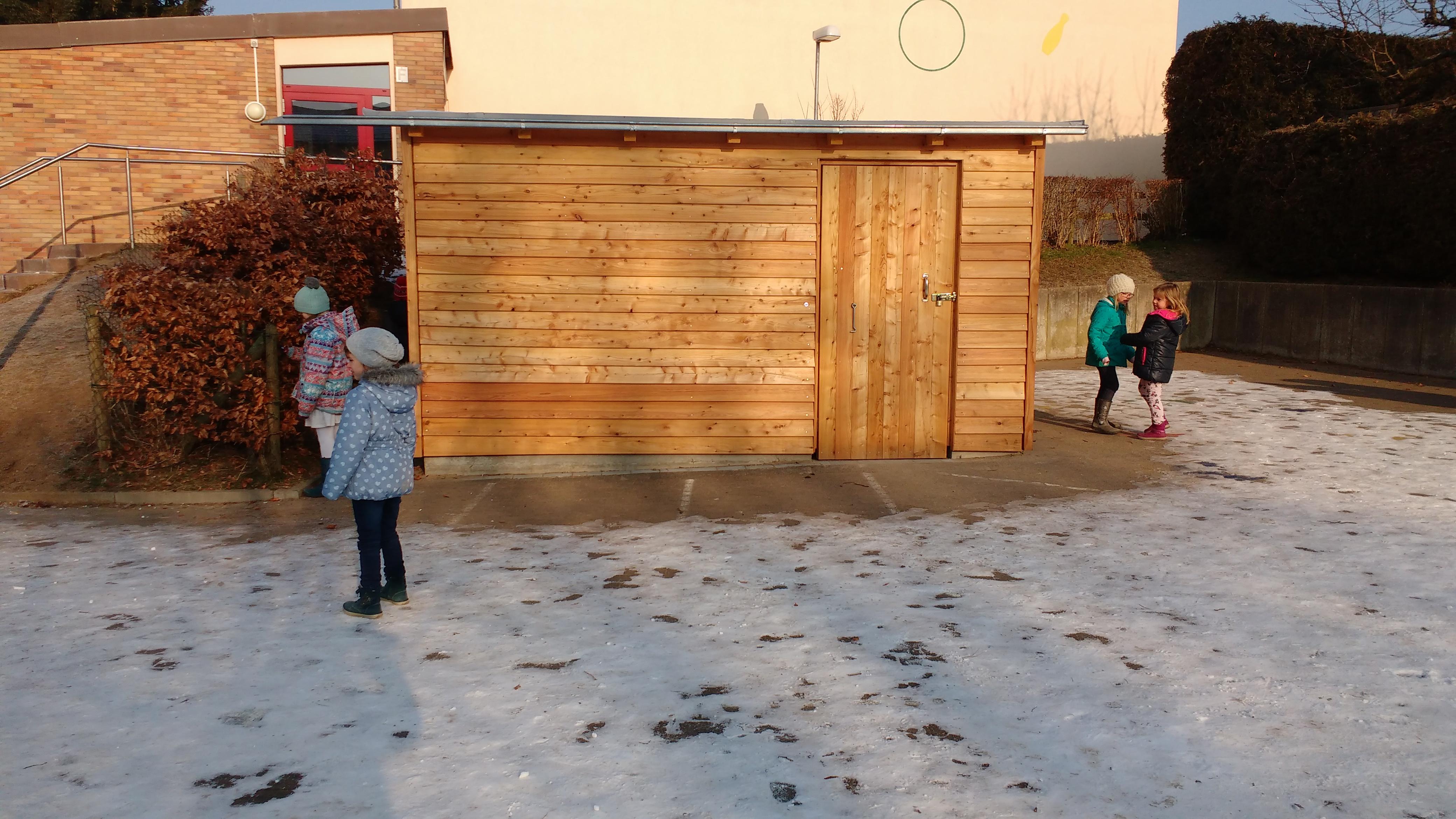 Oberer Pausenhof : Grundschule am Treppenweg